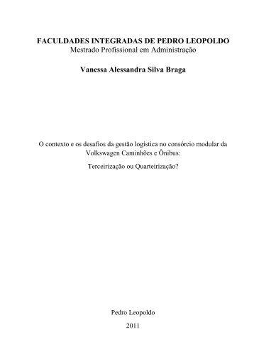 Vanessa Alessandra Silva Braga - Fundação Pedro Leopoldo