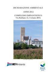 dichiarazione ambientale anno 2012 complesso - Herambiente - Il ...