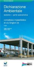 Complesso impiantistico Forlì - Aggiornamento 2008