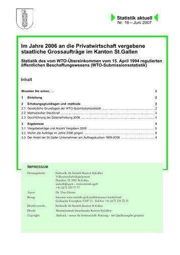 226 kB, PDF - Öffentliche Statistik Kanton St.Gallen