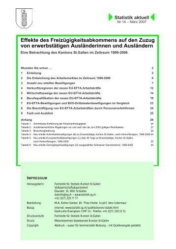 404 kB, PDF - Öffentliche Statistik Kanton St.Gallen