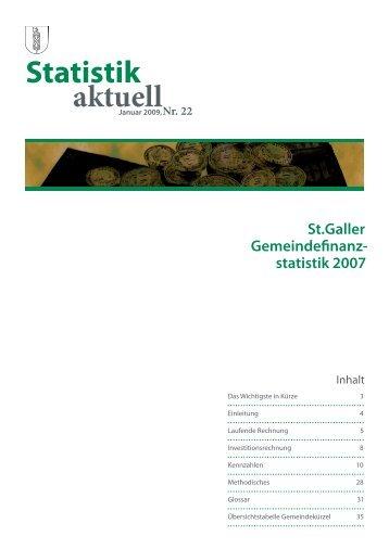 1533 kB, PDF - Öffentliche Statistik Kanton St.Gallen