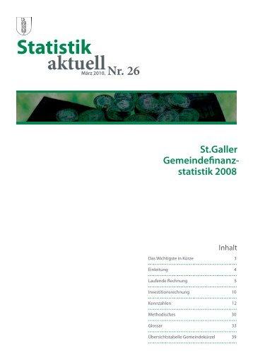 1301 kB, PDF - Öffentliche Statistik Kanton St.Gallen