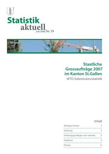 552 kB, PDF - Öffentliche Statistik Kanton St.Gallen