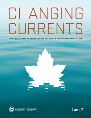 Changing Currents: Water Sustainability and the Future of Canada's ...