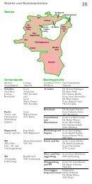 Gremien und Mandatsträger der Bezirke und des Kantons