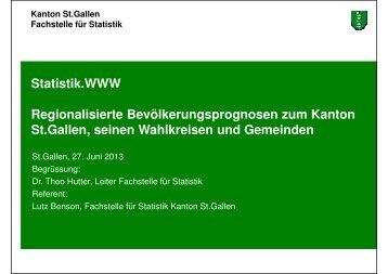 986 kB, PDF - Öffentliche Statistik Kanton St.Gallen