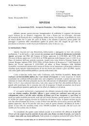 Scarica la sintesi del progetto - eur.roma.it