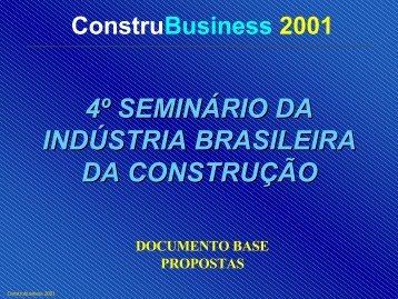4º seminário da indústria brasileira da construção - TECLIM