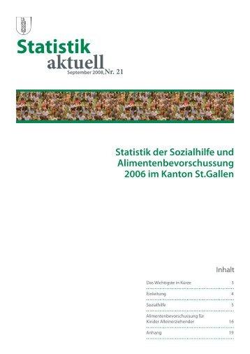 681 kB, PDF - Öffentliche Statistik Kanton St.Gallen