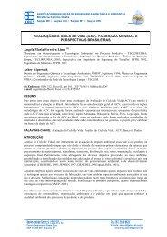 (ACV): PANORAMA MUNDIAL E PERSPECTIVAS ... - TECLIM