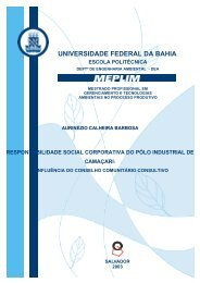 Responsabilidade Social Corporativa do Pólo Industrial ... - TECLIM