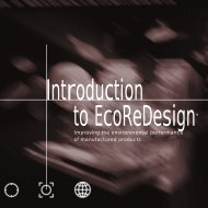 Introduction to EcoReDesign - TECLIM