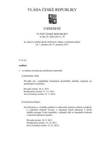 usnesení č. 59