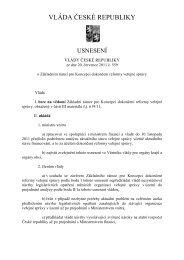 usnesení vlády ze dne 20. července 2011 č. 559/2011