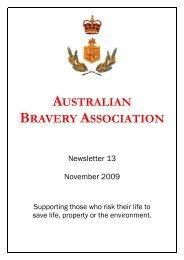 AUSTRALIAN BRAVERY ASSOCIATION
