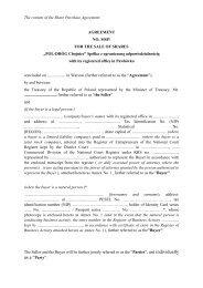 "The Share Purchase Agreement - ""POL-DRÓG Chojnice"" Spółka z o.o."