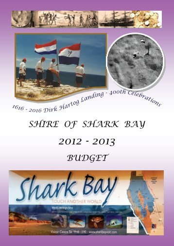 Annual Budget 2011/2013 (PDF document 3.0 MB) - Shire of Shark ...