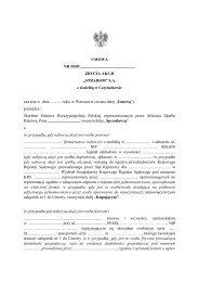 """""""STRADOM"""" SA z siedzibą w Częstochowie - Ministerstwo Skarbu ..."""