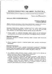 Odpowiedzi na zapytania - Ministerstwo Skarbu Państwa