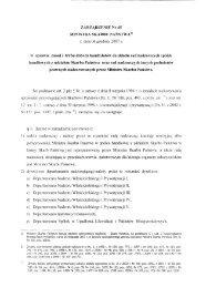 """ZARZĄDZENIE Nr 45 MINISTRA sKARBU PAŃSTWA"""" - Ministerstwo ..."""