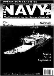 Indian Naval Expansion Maritime - Navy League of Australia