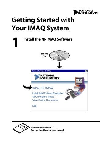 Getting Started with Your IMAQ System - National Instruments