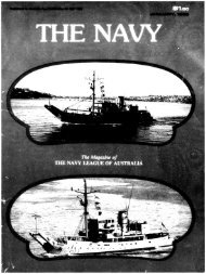 Jan and Apr 1985 - Navy League of Australia