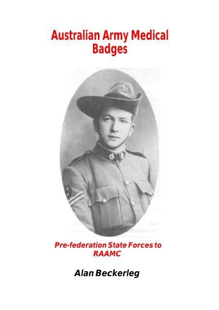 Australian Army Medical Badges