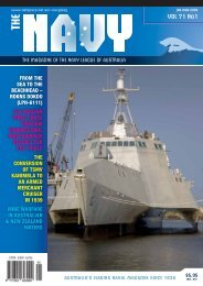 VOL 71 No1 - Navy League of Australia