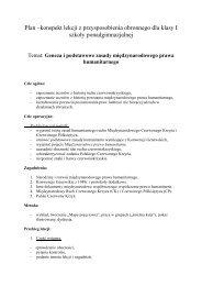 Geneza i podstawowe zasady międzynarodowego ... - Interklasa