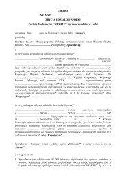 Zakłady Mechaniczne CHEMITEX Sp. z o.o. - Ministerstwo Skarbu ...