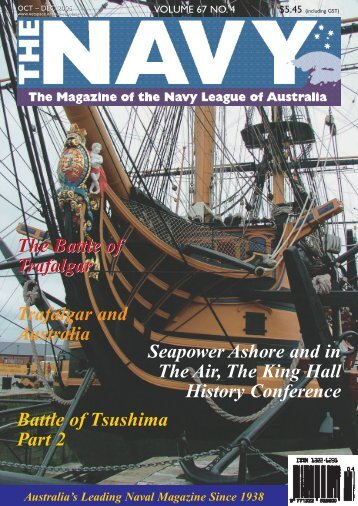 The Navy Vol_67_No_4 Oct 2005 - Navy League of Australia