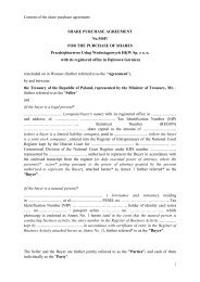 The Share Purchase Agreement