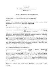 """""""POL-MOT"""" Holding S.A. z siedzibą w Warszawie - Ministerstwo ..."""