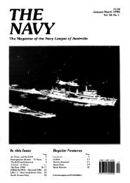 The Navy Vol_58_Part1 1996 - Navy League of Australia