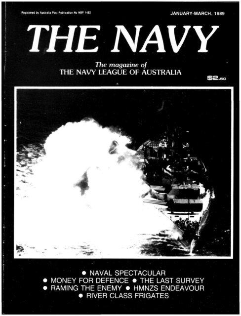 Jan and Apr 1989 - Navy League of Australia