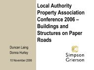 Buildings and Structures on Paper Roads - LAPA