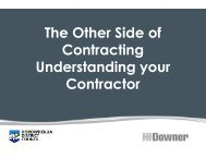 The Other Side of Contracting Understanding your Contractor - LAPA