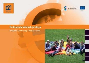 Podręcznik dobrych praktyk EFS - Fundusze Europejskie