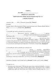 umowa - Krakowskie Zakłady Sprzętu Ortopedycznego Sp. z o.o.