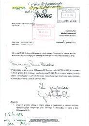 PGNiG - Ministerstwo Skarbu Państwa
