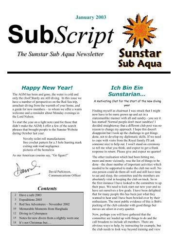 monthly account system for the hazeldene sub aqua club essay