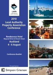 2010 LAPA Conference Programme