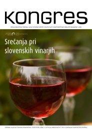 SreĖanja pri slovenskih vinarjih - Kongres Magazine