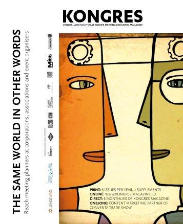 media kit 2014 - Kongres Magazine