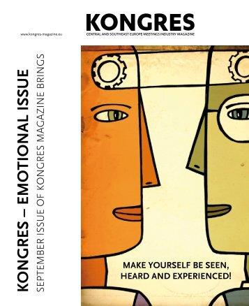 Kongres SEPTEMBER 2013 - Kongres Magazine