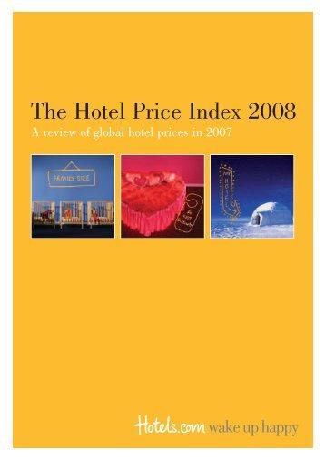 The Hotel Price Index 2008 - Kongres Magazine