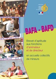 BAFA - BAFD - DRJSCS