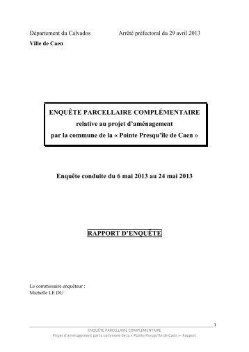 Pointe Presqu'île de Caen - Les services de l'État dans le Calvados